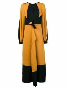 Proenza Schouler Long Sleeve Keyhole Dress - Green