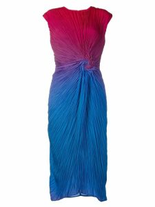 Sies Marjan degrade plissé midi dress - Blue