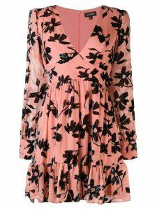 Saloni flower dress - Pink