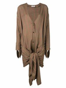 Attico shirt dress - Brown