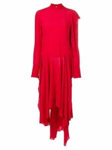 Petar Petrov turtleneck dress - Red
