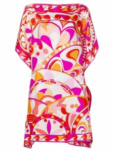 Emilio Pucci floral print dress - Pink