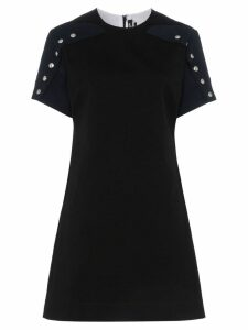 Calvin Klein 205W39nyc popper sleeve cotton dress - Black