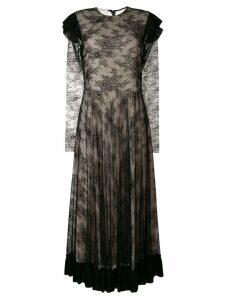 Philosophy Di Lorenzo Serafini lace midi dress - Black