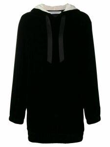 Philosophy Di Lorenzo Serafini short hooded dress - Black