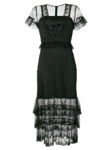 Three Floor Montana layered dress - Black
