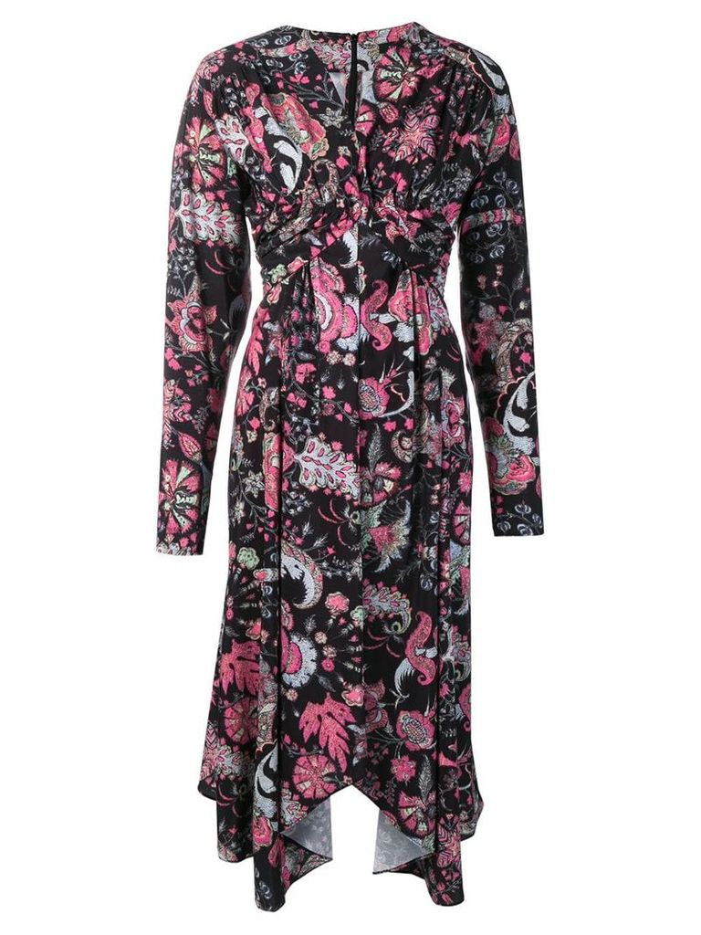 Isabel Marant Robe printed dress - Black