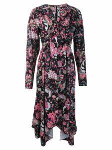 Isabel Marant Robe printed dress - Black