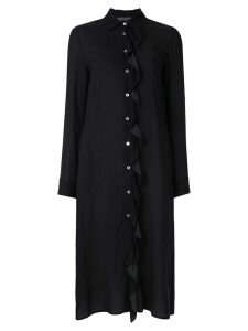 Simonetta Ravizza Agata shirt dress - Black