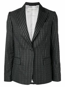 Golden Goose pinstriped blazer - Blue