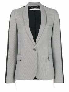 Stella McCartney zig-zag patterned blazer - White