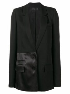 Haider Ackermann long panelled blazer - Black