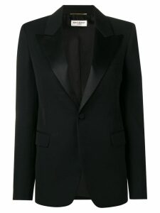 Saint Laurent buttoned blazer - Black