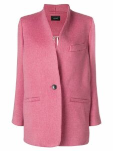 Isabel Marant one-button blazer - Pink