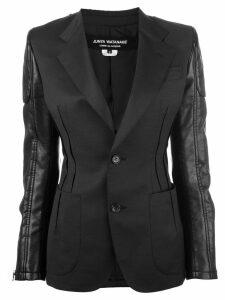Junya Watanabe contrast blazer - Black