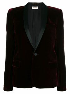 Saint Laurent tuxedo blazer - Red