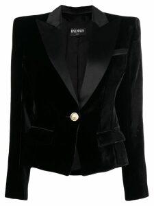 Balmain classic fitted blazer - Black