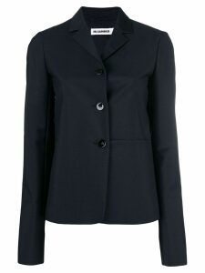 Jil Sander fitted blazer - Blue