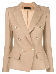 Alexandre Vauthier double breasted blazer - Neutrals