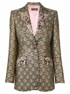 Dolce & Gabbana jacquard blazer - Black