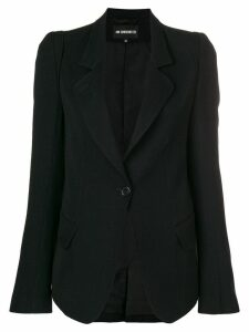 Ann Demeulemeester classic fitted blazer - Black