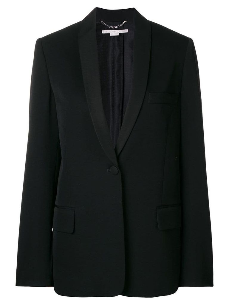 Stella McCartney deep v-neck blazer - Black