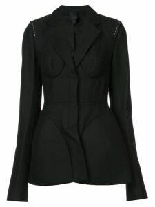 Vera Wang structured blazer - Black