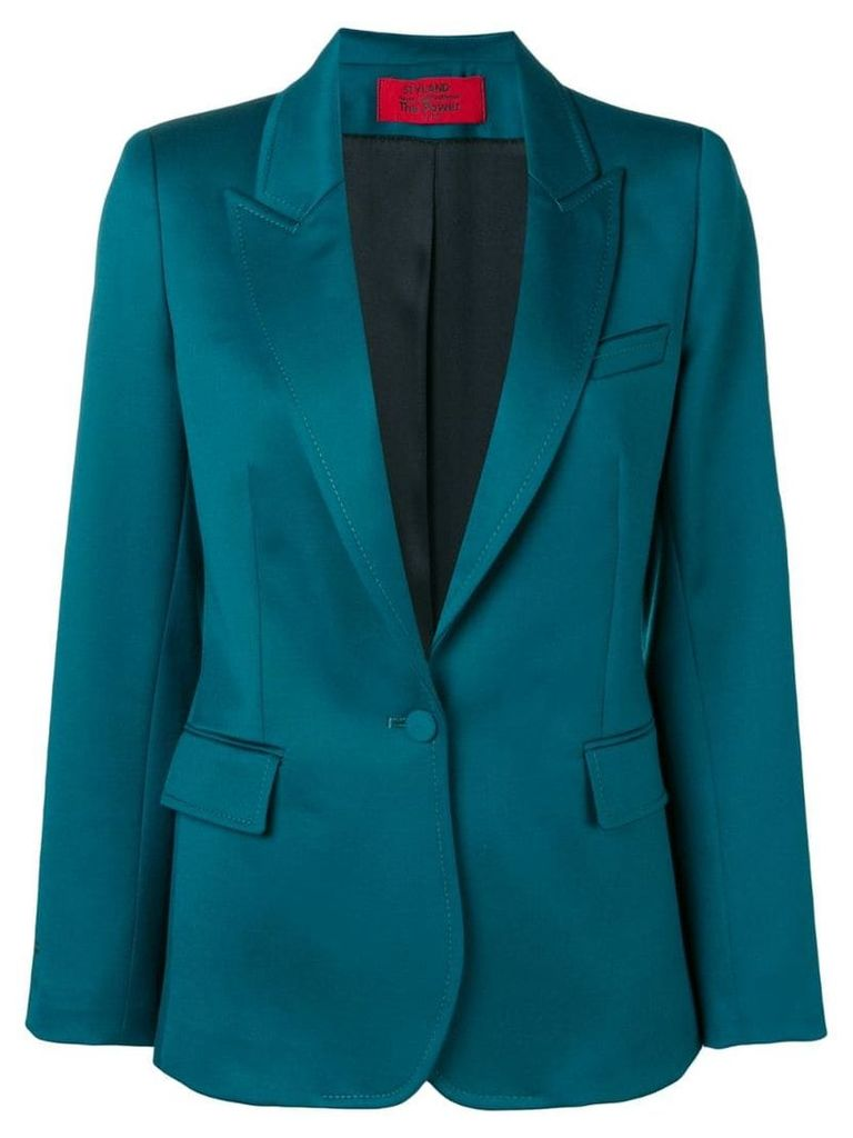 Styland single-breasted blazer - Green