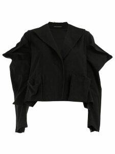 Yohji Yamamoto pointed sleeves blazer - Black