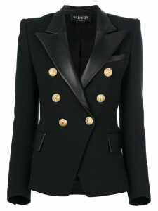 Balmain button embellished blazer - Black