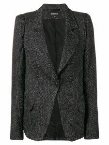 Ann Demeulemeester blazer jacket - Black
