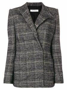Philosophy Di Lorenzo Serafini check pattern blazer - Black