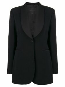 Ermanno Scervino mid-length blazer - Black