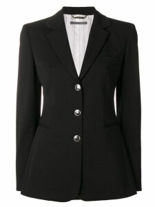 Alberta Ferretti classic single-breasted blazer - Black