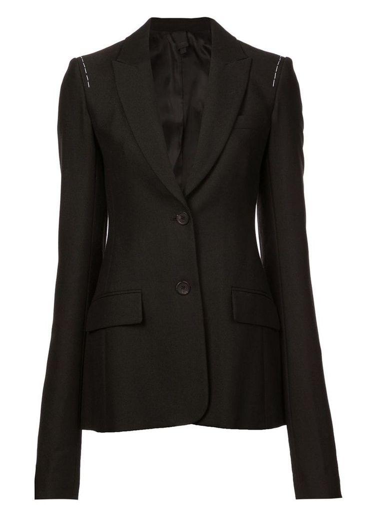 Vera Wang stitching detail blazer - Black