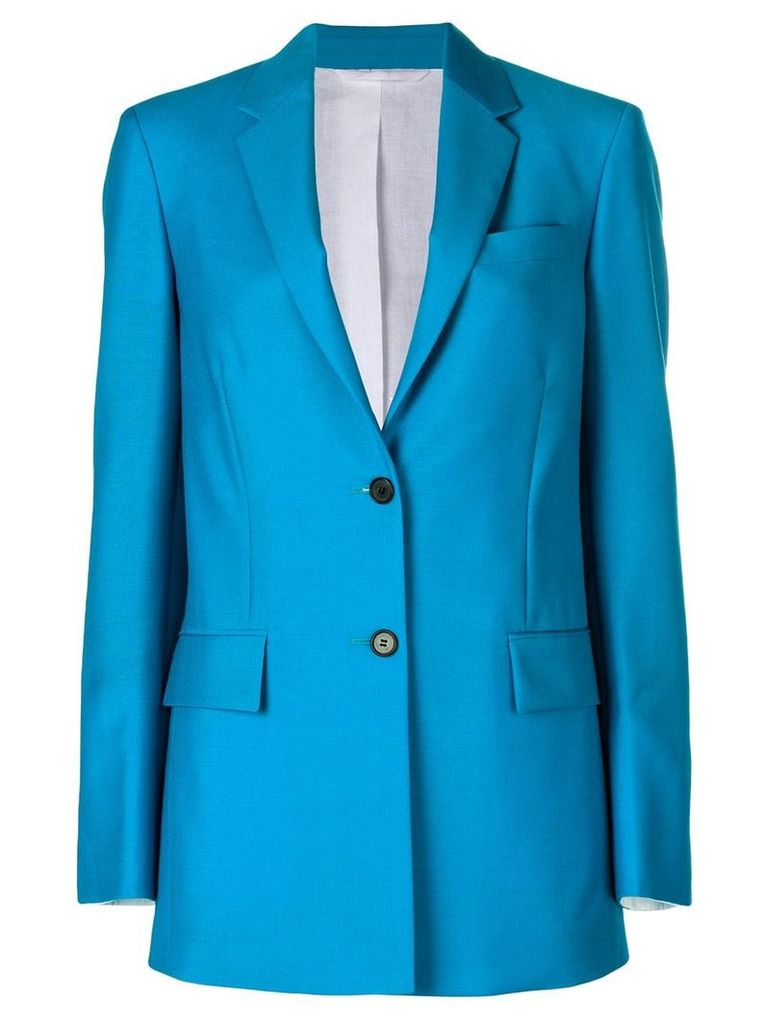 Calvin Klein 205W39nyc tailored longline blazer - Blue