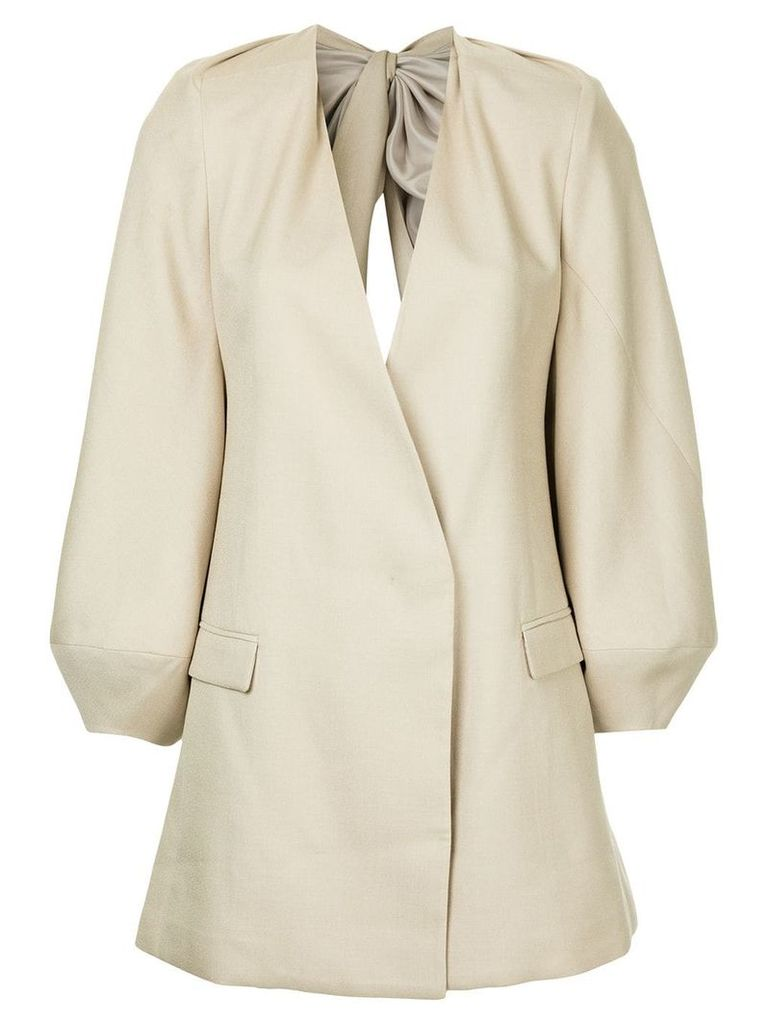 Bianca Spender Curtain Call jacket - Neutrals
