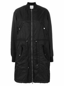 Kenzo long line bomber jacket - Black
