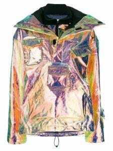 Maison Margiela iridescent bomber jacket - Metallic