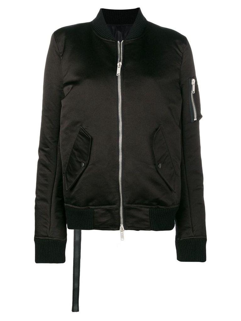 Unravel Project padded bomber jacket - Black