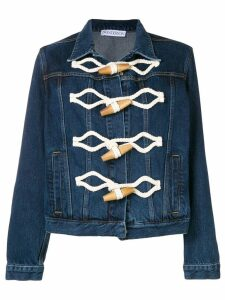 JW Anderson toggle denim jacket - Blue