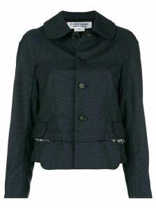 Comme Des Garçons Comme Des Garçons button-down fitted jacket - Blue