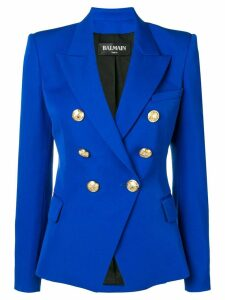 Balmain double breasted jacket - Blue