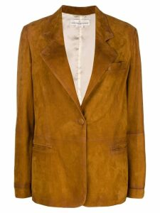 Golden Goose Ermada single-breasted jacket - Brown