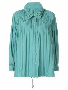 Pleats Please Issey Miyake Jaunty jacket - Blue