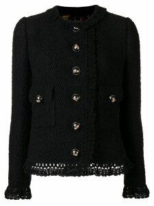 Dolce & Gabbana classic buttoned jacket - Black