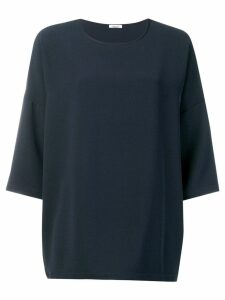 P.A.R.O.S.H. plain blouse - Black