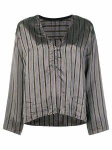 Elsa Esturgie Vera blouse - Grey