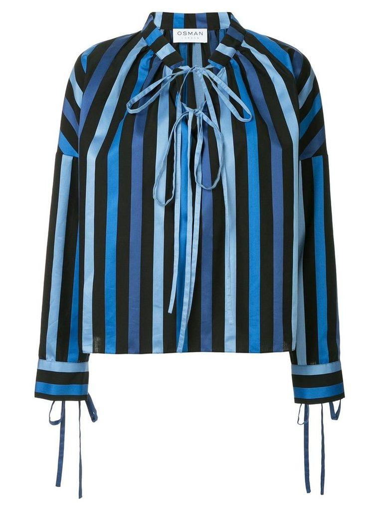 Osman Jacky striped top - Blue