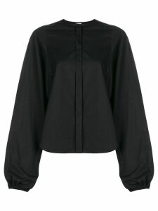 Comme Des Garçons Noir Kei Ninomiya round neck blouse - Black